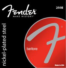 Fender 250B Baritone Light .013 - .065 Nickel-Plated Steel Electric Guitar Strings