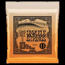 Ernie Ball Clear Nylon Concert/Soprano Ball End Ukulele Strings