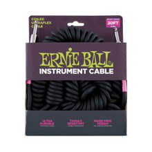 Ernie Ball Cable - Coil SS Black 30'
