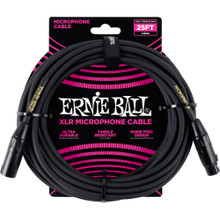 Ernie Ball Cable - P6073 25' Mic Bk/Gd