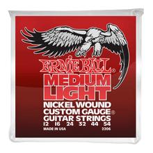 Ernie Ball Nickel Wound Custom Electric Guitar Strings 12-54 Medium Light
