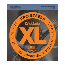 D'Addario Bass Strings - EPS160SL Pro Steel