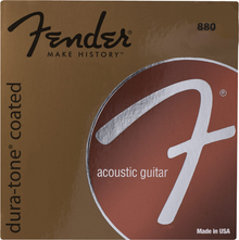Fender 880CL Custom Light .011 - .052 Coated 80/20 Bronze Acoustic Guitar Strings