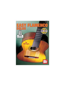 Easy Flamenco Solos by Mel Agen (Mel Bay, Book & Online Audio)