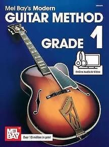 Mel Bay's Modern Guitar Method Grade 1 (Book + Online Audio & Video)