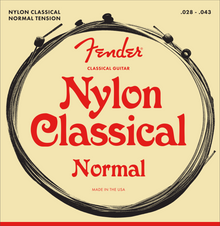 Fender 130 Ball End Medium .028 - .043 Nylon Classical Guitar Strings