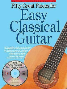 Fifty Great Pieces For Easy Classical Guitar (Book & CD)