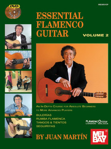 Essential Flamenco Guitar by Juan Martín - Volume Two (Book & DVDs)