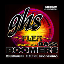GHS Strings - Bass Boomers Flea Signature Pack