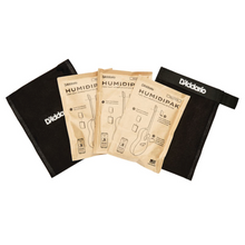 D'Addario Humidipak System Replacement Packets, 3-pack (PW-HPRP-03)