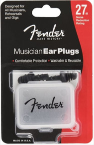 Fender Musician Ear Plugs - 27dB Noise Reduction