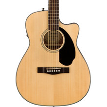 Fender CC60SCE Concert Sized Electro Acoustic Guitar - Natural