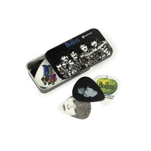 D'Addario Beatles Signature Guitar Pick Tins, Logo, 15 picks