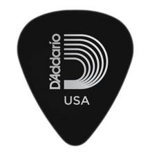 D'Addario Black Celluloid Guitar Picks, 10 pack, Medium