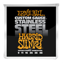 Ernie Ball 2247 Stainless Steel Electric Guitars Strings 9-46 Hybrid Slinky