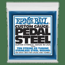 Ernie Ball 10-String E9 Tuning Stainless Steel Custom Gauge Pedal Steel Strings