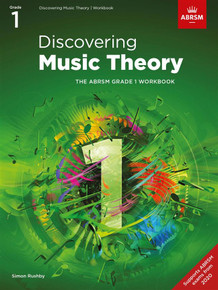 ABRSM Discovering Music Theory - Grade 1 Workbook