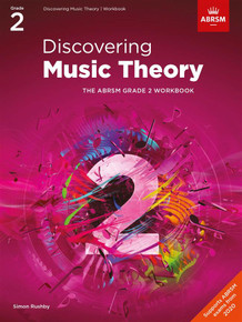 ABRSM Discovering Music Theory - Grade 2 Workbook