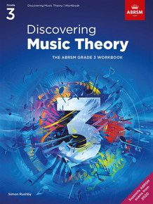 ABRSM Discovering Music Theory - Grade 3 Workbook