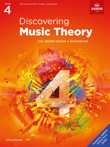 ABRSM Discovering Music Theory - Grade 4 Workbook