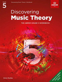 ABRSM Discovering Music Theory - Grade 5 Workbook