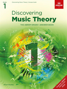 ABRSM Discovering Music Theory - Grade 1 Answers