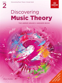 ABRSM Discovering Music Theory - Grade 2 Answers
