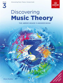 ABRSM Discovering Music Theory - Grade 3 Answers