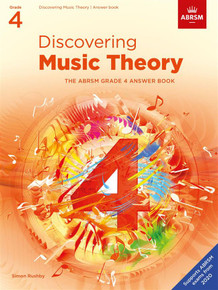 ABRSM Discovering Music Theory - Grade 4 Answers