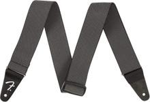 Fender WeighLess Tweed Guitar Strap In Grey