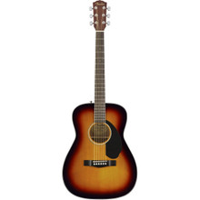 Fender CC-60S Concert Sized Acoustic Guitar Sunburst