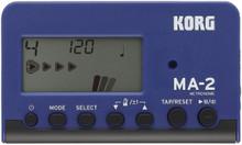 KORG MA2 Pocket Digital Metronome - Black & Blue