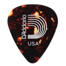 D'Addario Shell-Color Celluloid Guitar Picks, 10 pack, Heavy