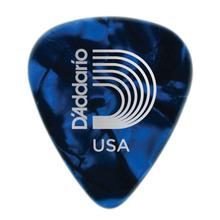D'Addario Blue Pearl Celluloid Guitar Picks, 10 pack, Heavy