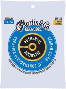 Martin MA150 Authentic Acoustic - SP - 80/20 Bronze Medium ( 13-56 )