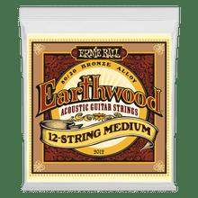 Ernie Ball Earthwood Medium Acoustic Strings 12-String