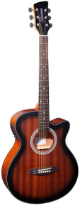 Brunswick Grand Auditorium Electro Tobacco Sunburst