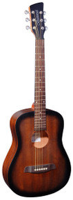 Brunswick BT200 Travel Guitar - Tobacco Burst