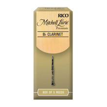 Rico Mitchell Lurie Premium Bb Clarinet Reeds Box of 5 - 2.5