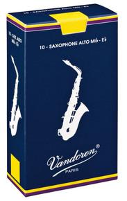 Vandoren Traditional Alto Saxophone Reeds Box of 10 - 2