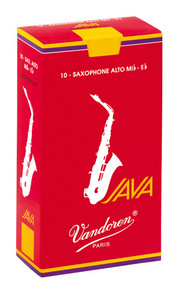Vandoren Java Red Alto Saxophone Reeds Box of 10 - 2.5