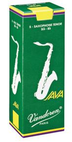 Vandoren Java Tenor Saxophone Reeds Box of 5 - 2.5