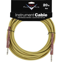 Fender Custom Shop Tweed Performance Series Instrument Cable - 20ft