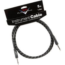 Fender Custom Shop Black Tweed Performance Series Instrument Cable - 5ft