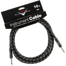 Fender Custom Shop Black Tweed Performance Series Instrument Cable - 10ft