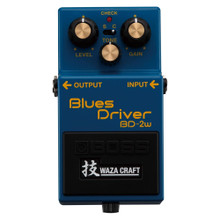 Boss BD-2W Waza Craft Blues Driver Overdrive Effects Pedal