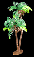 Plastic Palm Tree 5""
