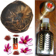 Zaffran/Saffron with Wild deer musk oil - non-alcoholic(6cc) fragrance oil