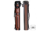 Delta Leather 2x4 Cowboy Case Brown - 031-805-A24-BN-J