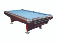 President V Pool Table - 8FT - Mahogany - 002-037-BN-8